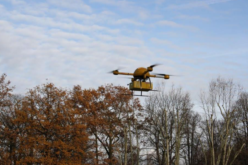dhl drone delivery