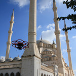 UAV Creates 3D Model of Largest Mosque in Turkey